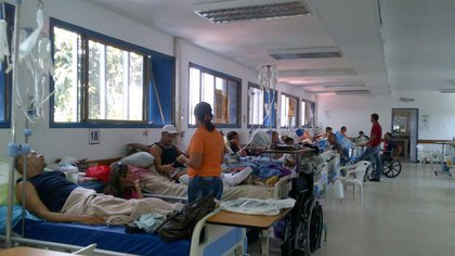 Un hospital en Venezuela (Twitter)