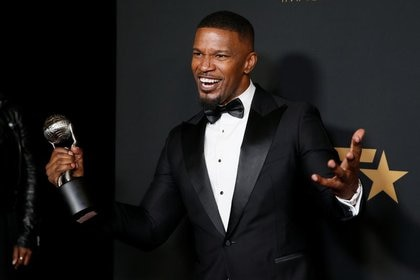 The voice cast in the original version of the film is led by actors Jamie Foxx, Tina Fey and Graham (Photo: Reuters)