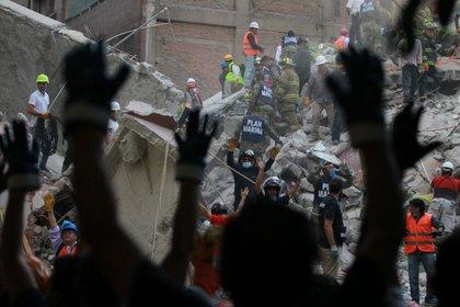 Terremoto del 7.1 grados en México. (Foto: EFE)