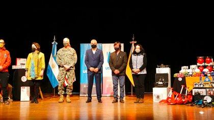 En su última actividad oficial en Argentina, el jefe del Comando Sur de los Estados Unidos, Craig Faller, visitó Ushuaia