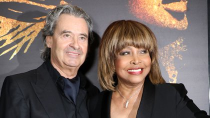 Tina Turner con su marido, Erwin Bach (Shutterstock)