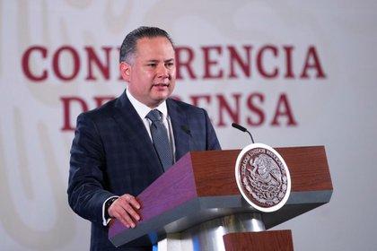 El titular de la UIF también reveló que denunciarán a Enrique Peña Nieto si llegan a tener pruebas o indicios que lo vinculen al caso (Foto: Cortesía Presidencia)