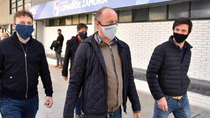 El jefe comunal de Lomas de Zamora fue internado en los últimos días de la semana pasada luego de que se confirmara que había dado positivo de coronavirus