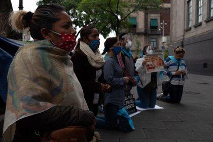 Grupos provida frente a la Suprema Corte de Justicia (FOTO: ANDREA MURCIA/CUARTOSCURO.COM)