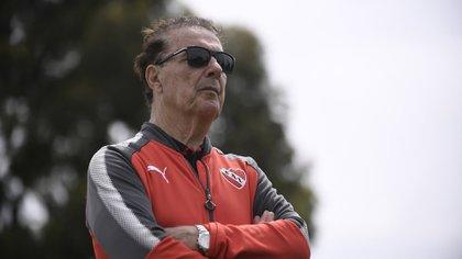 Pepé Santoro pasó casi toda su vida trabajando en Independiente en distintos puestos (Foto: @Independiente)