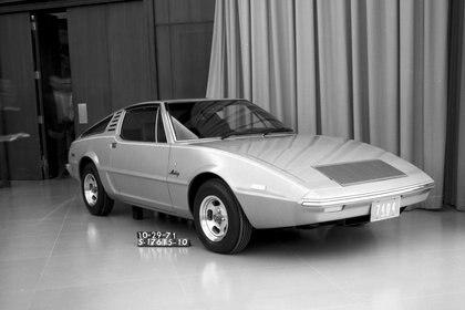 Uno de los modelos ideados por Ghia, a principios de los 70, que dieron paso al Mustang 2.
