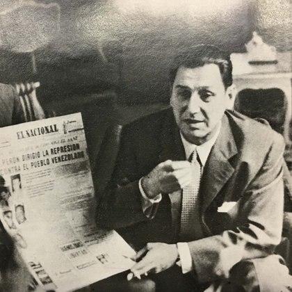 Perón en Caracas