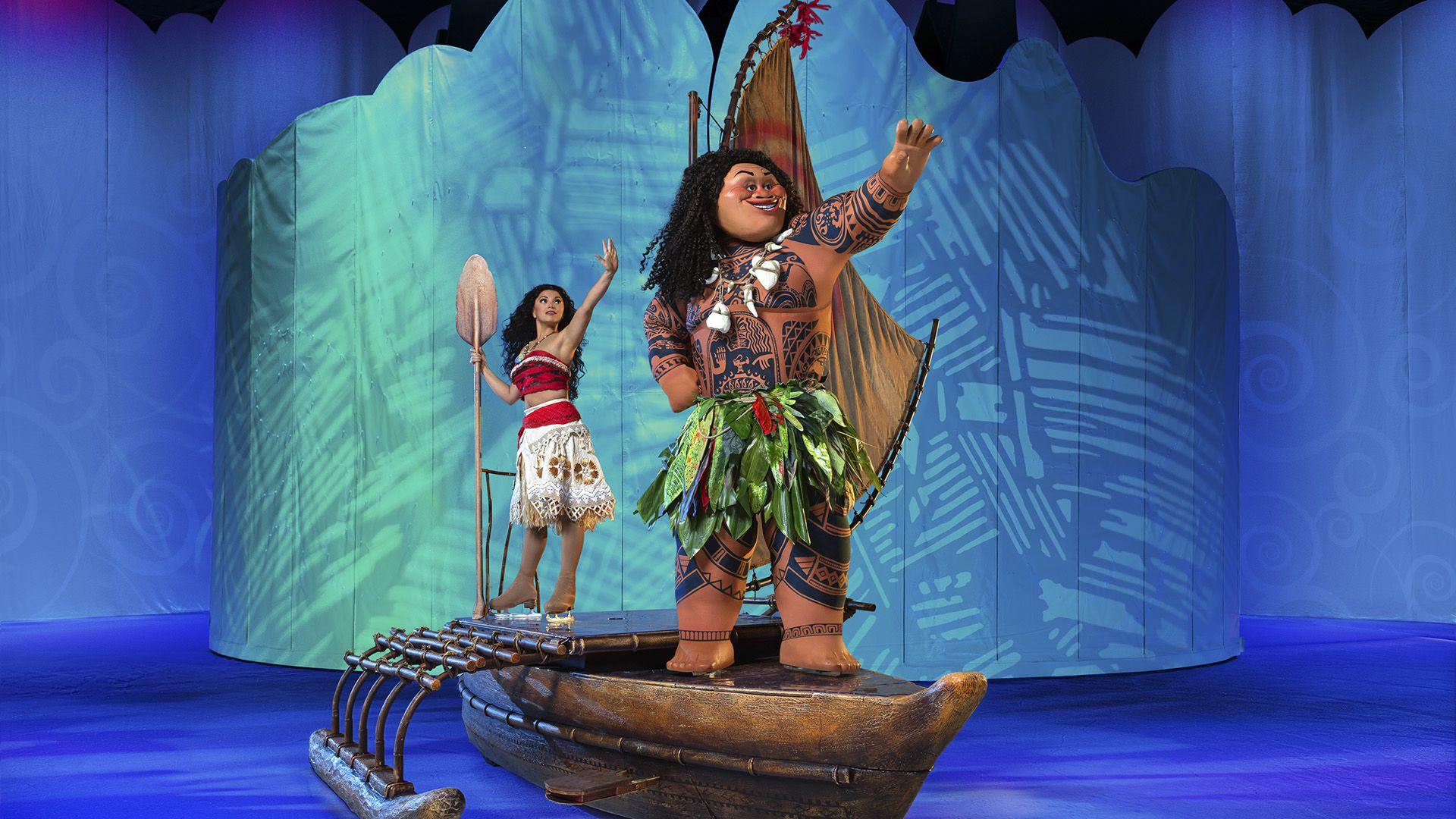 El espectáculo contará por primera vez con la participación en vivo de Moana (Disney on Ice)