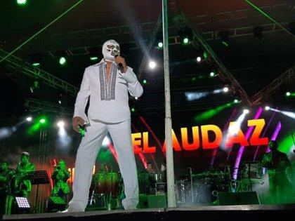 Falleció El Audaz, legendario luchador y cantante mexicano (Foto: Facebook/ @DomenicoElAudaz)