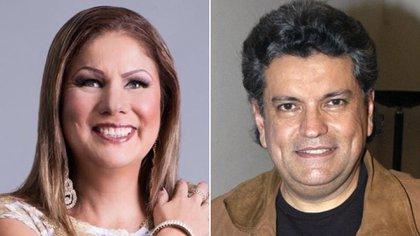 Crystal denunció que sufrió abuso psicológico y físico por parte de su ex pareja, Sergio Andrade (Foto: Instagram / @crystalcantante // Twitter / @Agztn_Ortz)
