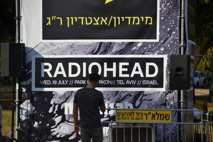 Radiohead toc´´o en la noche del miércoles 19 en Tel Aviv, rompiendo con el boicot cultural anti-israelí