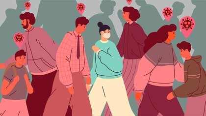 El miedo es un factor paralizante que nos da incertidumbre y angustia en la pandemia (Shutterstock)