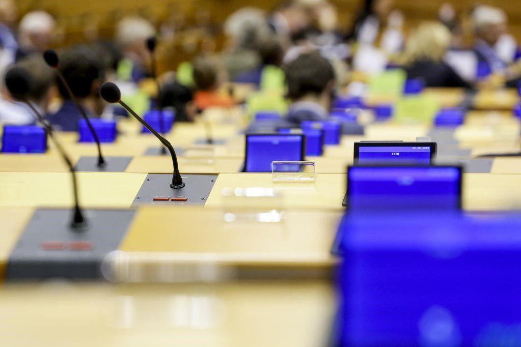 25/03/2020 Imagen de archivo de la Eurocámara. ECONOMIA  PARLAMENTO EUROPEO