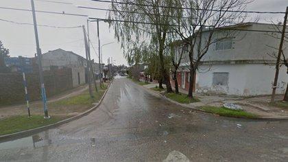La esquina donde ocurrió el hecho en el partido de San Martín