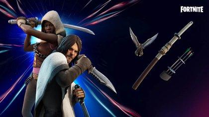 La actual temporada de Fortnite se centra en cazadores e incluye personajes de diferentes franquicias
