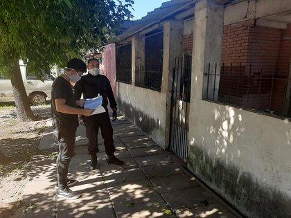 Controles en Moreno por la  pandemia (Facebook Mariel Fernández Moreno)