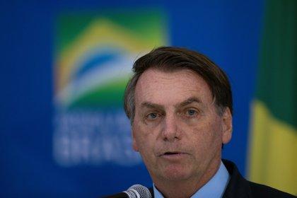 En la imagen, el Presidente de Brasil, Jair Bolsonaro. EFE/Joédson Alves/Archivo