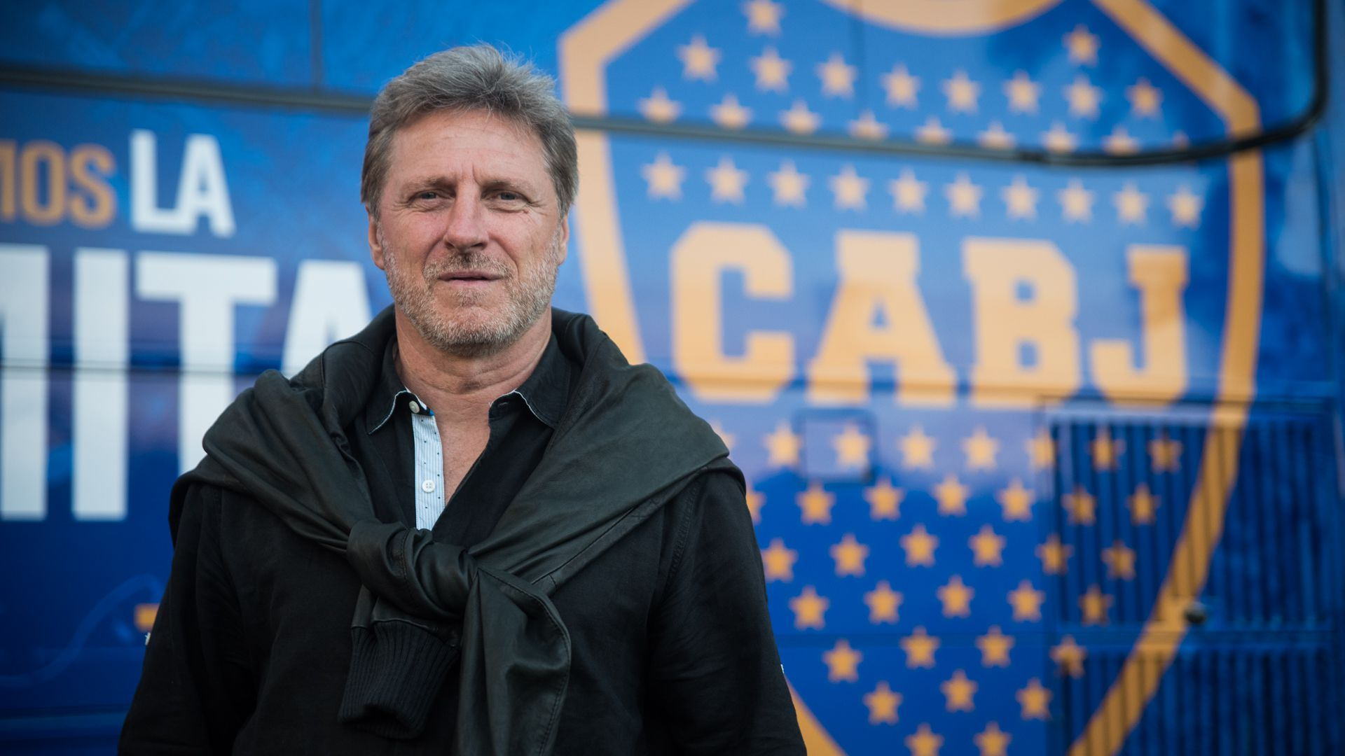 Quique Hrabina, ex defensor y emblema de Boca Juniors (Foto: Manuel Cortina)