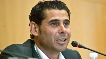 Hierro se estaba desempeñando como director deportivo de la Federación Española de Fútbol