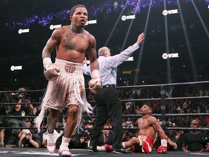 El púgil no perdió en ninguna de sus 23 peleas (22 ganó por KO) (AP Photo/Tami Chappell)