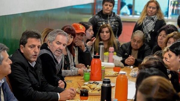 Resultado de imagen para Solá, Massa, Randazzo y Alberto Fernández