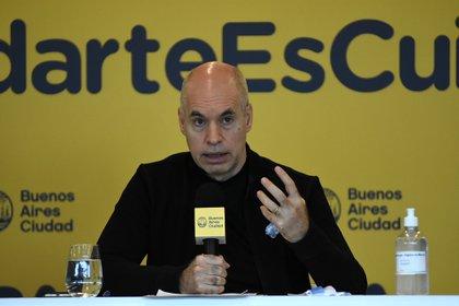 El jefe de Gobierno porteño, Horacio Rodríguez Larreta, anunció recientemente el cierre de comercios en zonas de aglomeración.
