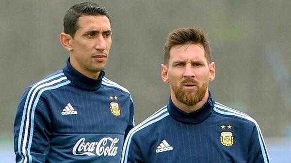 Ángel Di María armó su equipo en el FIFA 2018 y dejó a Messi en el banco