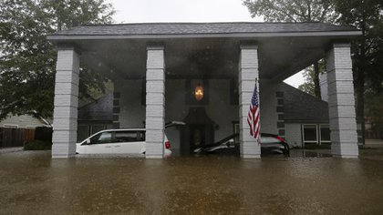Inundaciones en Texas (Godofredo A. Vásquez/Houston Chronicle via AP)