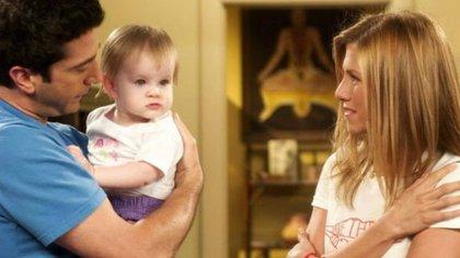 Las gemelas Cali y Noelle Sheldon aparecieron en la serie entre 2003 y 2004