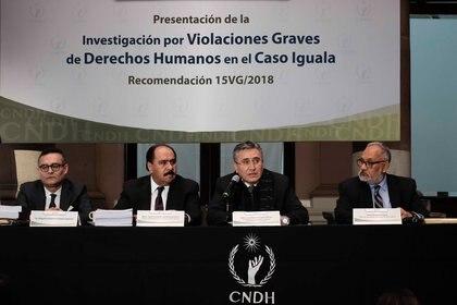FGR no ha respondido a recomendación de CNDH por caso Iguala (Foto: Cuartoscuro)