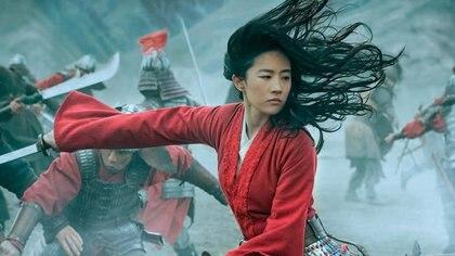 Yifei Liu, la actriz que interpreta a Mulán en la nueva megaproducción de Disney (Europa Press)