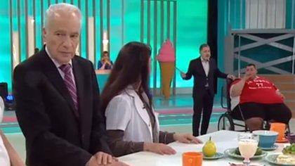 Alberto Cormillot y Maxi Oliva en Cuestión de peso