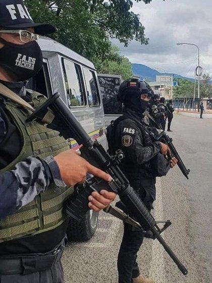 Las FAES Táchira están a la orden de Freddy Bernal