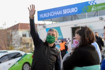 Juan Zabaleta, intendente de Hurlingham (Prensa Hurlingham)