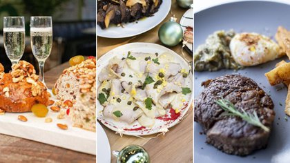 Las comidas de las Fiestas suelen contener muchas calorías