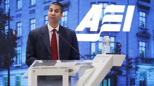 Ajit Pai, presidente de la Comisión Federal de Comunicaciones de Estados Unidos (Getty Images)