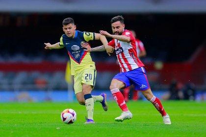 El Club América inició una nueva temporada con el pie derecho, pues el pasado sábado derrotó con un marcador de (2-1) al Atlético San Luis en la jornada 1 del Guard1anes 2021 (Foto: Cortesía/ Atlético de San Luis)