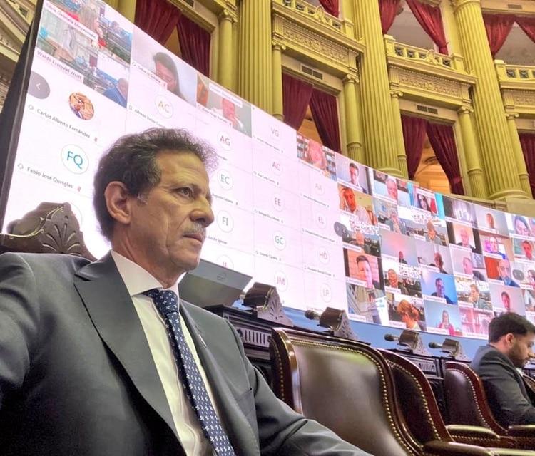 Julio Sahad, diputado nacional por La Rioja y presidente del PRO en su provincia