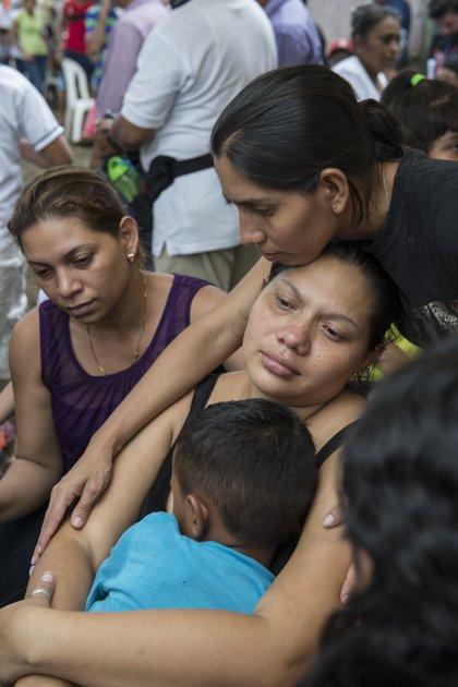 La madre de las víctimas denunció la falta de justicia en su caso. Foto\La Prensa