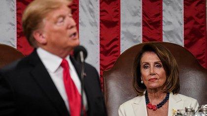Donald Trump pidió que Nancy Pelosi sea destituida