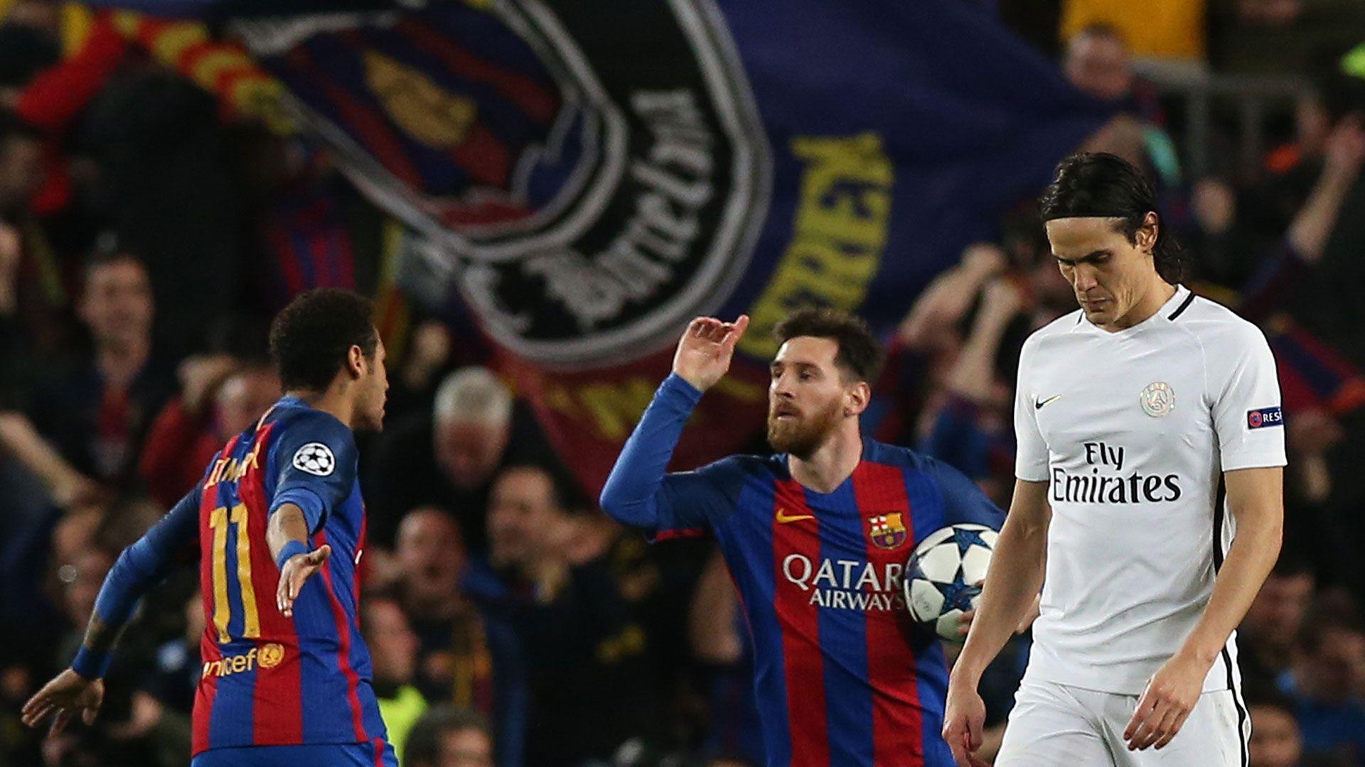 Barcelona y PSG se cruzaron en la fase de eliminatorias de la Champions League 2016-17 con Neymar aún de azulgrana (Reuters)