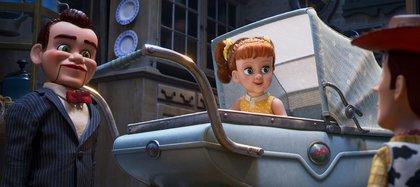 Benson y Woody, cara a cara(Disney Pixar
