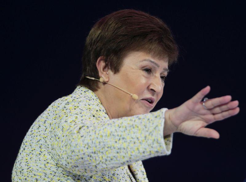 La directora gerente del FMI, Kristalina Georgieva (REUTERS/Christopher Pike)