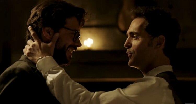 Su interpretación, y el vínculo entre los personajes, llevó a los guionistas a aceptar la idea de Morte y Alonso (Foto: Netflix/La Casa de Papel)
