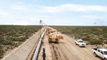 El nuevo gasoducto de TGS en Vaca Muerta