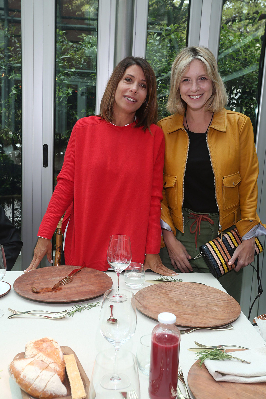 Dolores Cahen D'Anvers y Carla Peterson