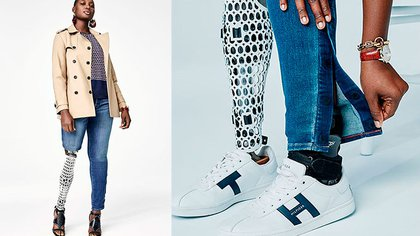 """La campaña de """"Tommy Actitude"""" con jeans, faldas, camisas, camperas y remeras"""