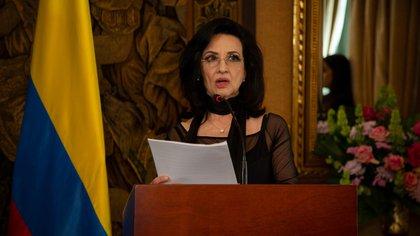 Claudia Blum, canciller de Colombia. Foto: Colprensa.