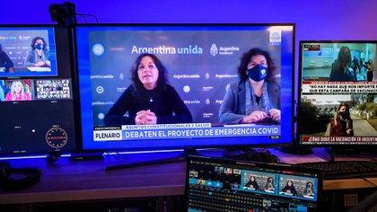 Senado: Ibarra y Vizzotti negaron que ley para regular las restricciones le otorguen superpoderes al Gobierno y se cruzaron con la oposición