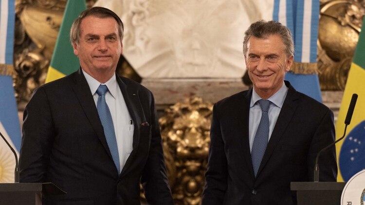 Bolsonaro ha expresado abiertamente su apoyo a Mauricio Macri (foto: Adrián Escandar)